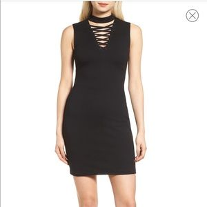 NWT Bailey 44 black bodycon dress